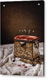 Sewing Box  Acrylic Print