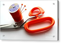 Sewing Essentials Acrylic Print by Barbara Griffin