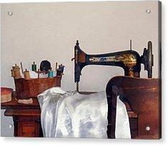 Sewing Room Acrylic Print by Susan Savad