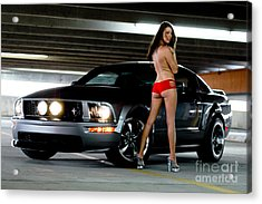 Sexy And Fast Acrylic Print by Jt PhotoDesign