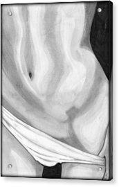 Sexy Body Acrylic Print by Saki Art