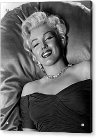 Sexy Marilyn Monroe Acrylic Print by Retro Images Archive