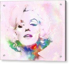 Sexy Marilyn Acrylic Print by Steve K