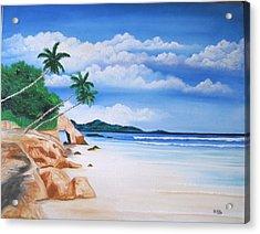 Seychelles Acrylic Print