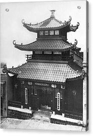 Sf Chinese Telephone Exchange Acrylic Print