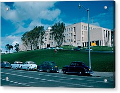 Sf City College 1956  2 Acrylic Print by Cumberland Warden