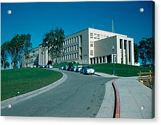 Sf City College 1956 Acrylic Print by Cumberland Warden