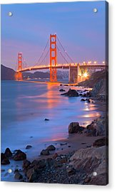 Acrylic Print featuring the photograph Sf Icon by Jonathan Nguyen