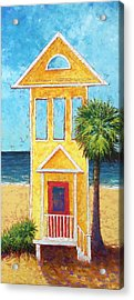 Acrylic Print featuring the painting SGI by Pam Talley