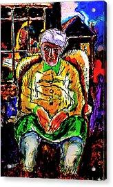 Shabbos In Odessa Acrylic Print