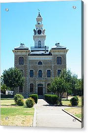 Shackelford County Courthouse Acrylic Print
