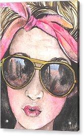 Shades Acrylic Print by Kim Whitton