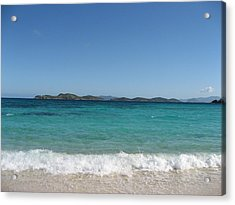 Acrylic Print featuring the photograph Shades Of Blue by Jean Marie Maggi