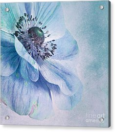 Shades Of Blue Acrylic Print by Priska Wettstein