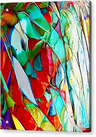 Shades Of Excitement Acrylic Print by Marcia Lee Jones