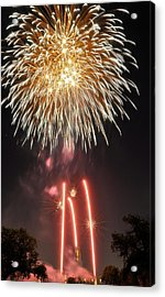 Acrylic Print featuring the photograph Shades Of Gold Explode by Kevin Munro