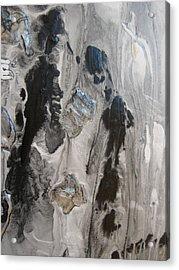 Shades Of Grey 33 Acrylic Print