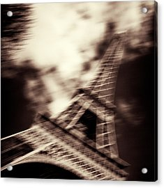 Shades Of Paris Acrylic Print by Dave Bowman