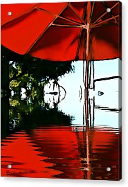 Shades Of Red Acrylic Print by Robert Smith