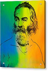 Shades Of Walt Whitman Acrylic Print by Dan Sproul