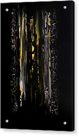 Shadow Gate Acrylic Print by Robert Horvath