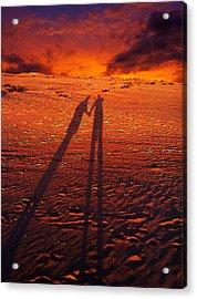 Shadow  Acrylic Print by Gray  Artus