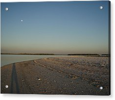 Acrylic Print featuring the photograph Shadow Moon by Robert Nickologianis