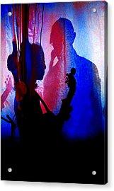 Shadow Play Acrylic Print by Mike Flynn