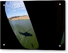 Shadow Rescue  Acrylic Print by Paul Job