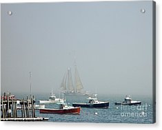 Shadow Ship Acrylic Print by Christopher Mace