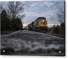 Shadow Train Acrylic Print