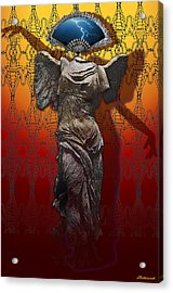 Shadowdancer Acrylic Print by Larry Butterworth