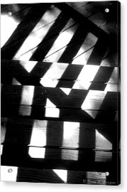 Shadowed Steps Acrylic Print