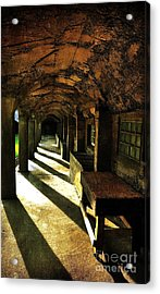 Shadows And Arches I Acrylic Print