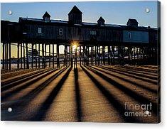 Shadows And Sunset Acrylic Print
