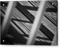 Shadows Of Carpentry Acrylic Print by Christi Kraft