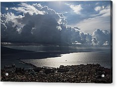 Acrylic Print featuring the photograph Shadows Of Clouds by Georgia Mizuleva