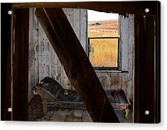 Shadows Of The Past Acrylic Print by Ed Hall