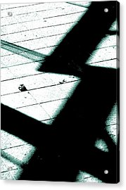 Shadows On The Floor  Acrylic Print