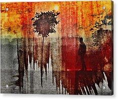 Shadows (one Way) Acrylic Print by Dalibor Davidovic