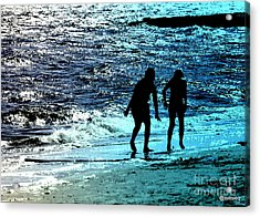 Shadows Acrylic Print by Sue Rosen