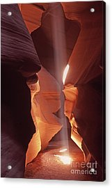 Shaft Of Light Antelope Canyon Acrylic Print