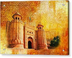 Shahi Qilla Or Royal Fort Acrylic Print by Catf