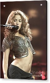 Shakira Acrylic Print by Concert Photos