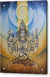 Shakti - Tripura Sundari Acrylic Print