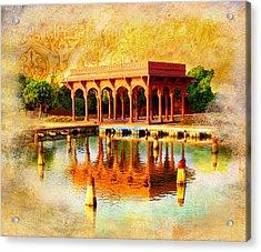 Shalimar Gardens Acrylic Print