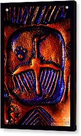 Shamanic Desert Acrylic Print
