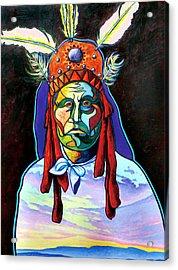 Shamans Power Acrylic Print by Joe  Triano