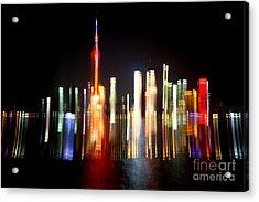 Shanghai Acrylic Print by Angelika Bentin