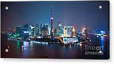 Shanghai Panorama Acrylic Print